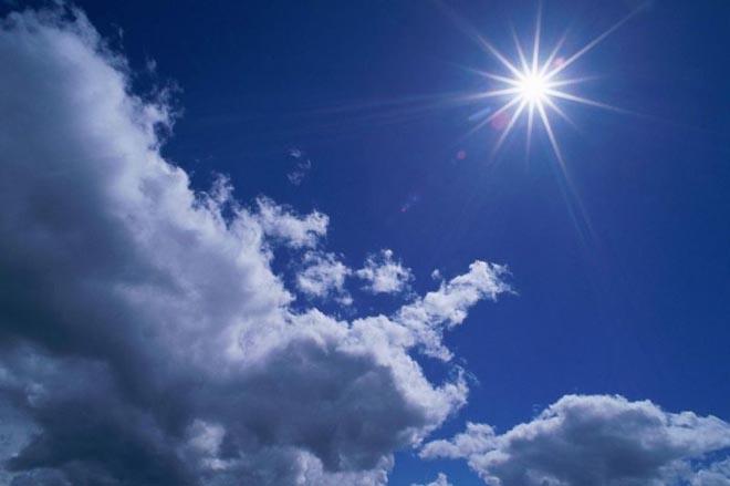 Havanın temperaturu yüksəlir
