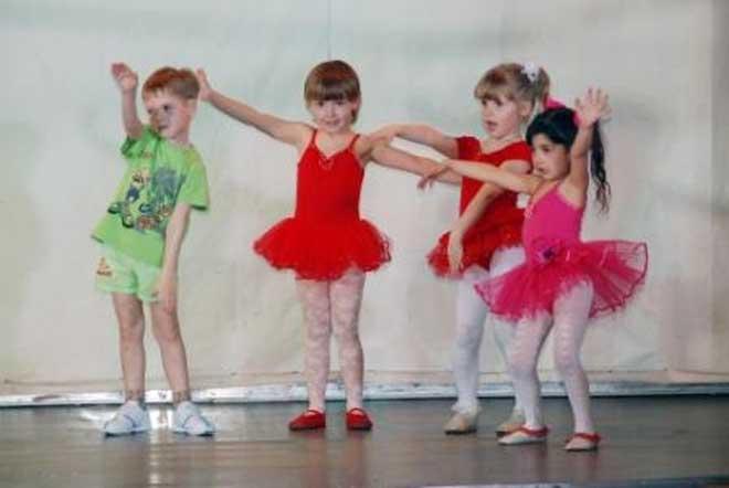 Танцы для детей от 4 лет