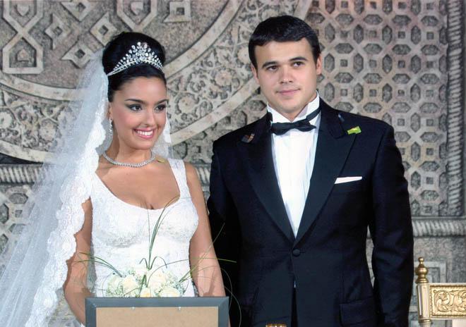 Фото лейла алиевой и эмина агаларова свадьба