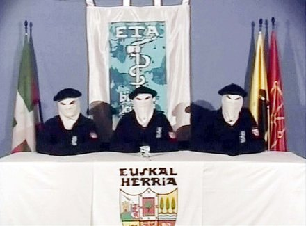 Basque group ETA hands over arms in southern parts of France