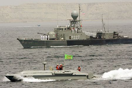 Iran tests anti-ship missile as part of naval drills