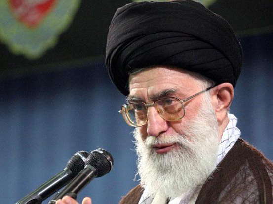 Iran top leader: Troublemakers in election will be 'slapped'