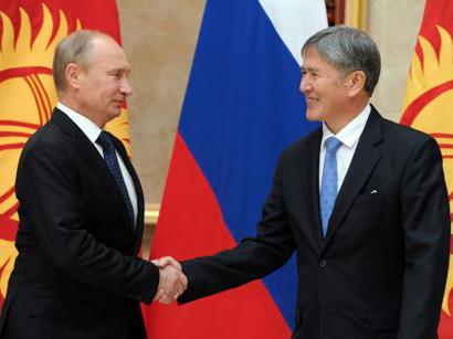 Путин иАтамбаев обсудили потелефону результаты встречи поСАР вАстане