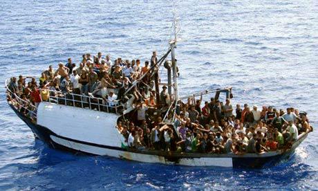 Spain saves 26 migrants from sinking boat in Atlantic Ocean