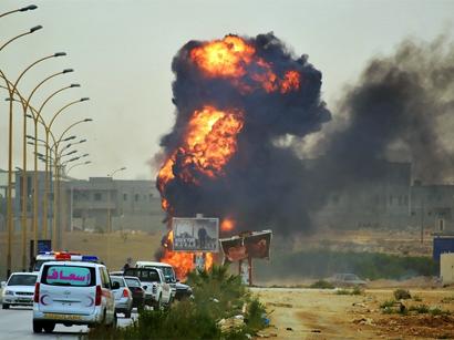 ВВС Египта нанесли авиаудары по террористам на северо-востоке Ливии