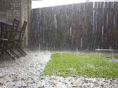 XƏBƏRDARLIQ: Bəzi bölgələrdə intensiv yağış yağacaq, dolu düşəcək