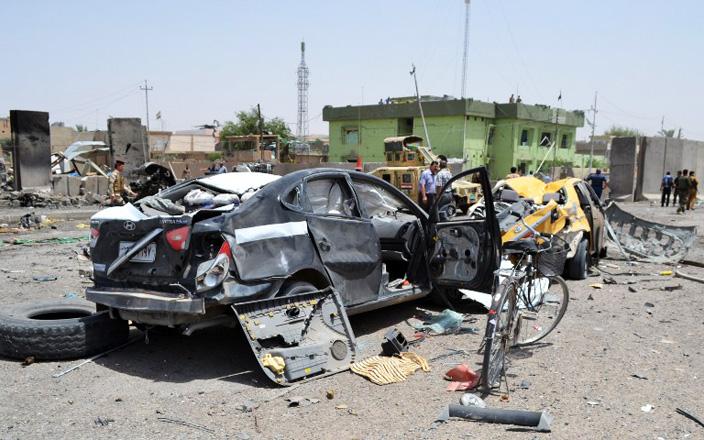 Mosulda güclü partlayış olub: 12 ölü, 20 yaralı