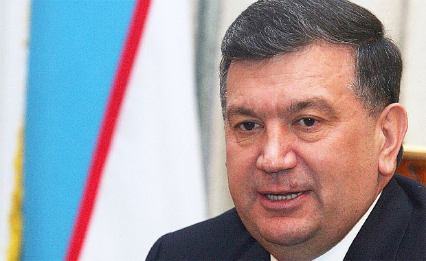 Uzbek presidents receives Russian interior minister