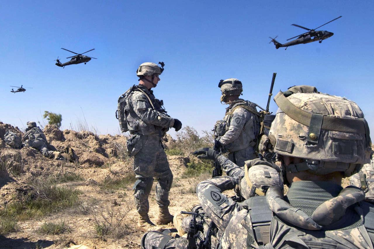 Американский военнослужащий погиб в районе Мосула