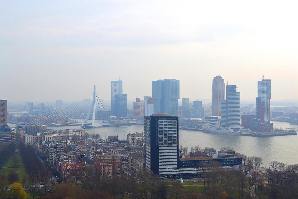 Rotterdamda partlayış baş verib