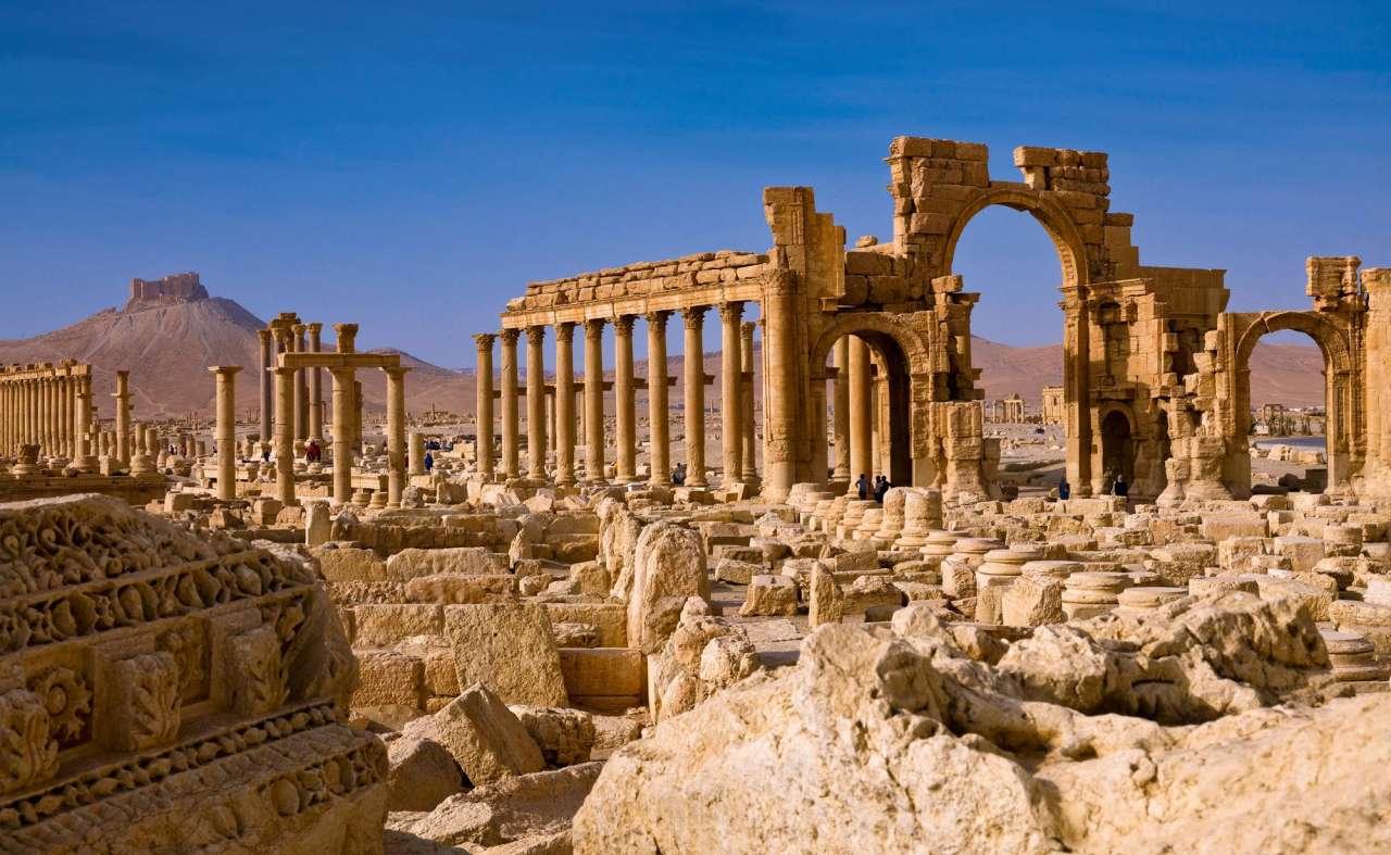 Palmira yenə azad olundu