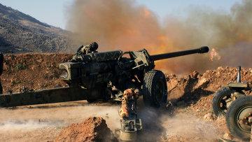 Сирийская армия отразила атаки ИГ близ трассы Хомс-Алеппо
