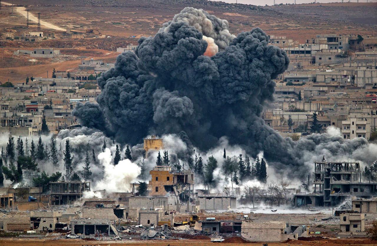 Koalisiyanın Suriyaya hava zərbəsi nəticəsində azı 40 nəfər ölüb