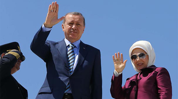 Эрдоган прибыл в Таджикистан для участия в саммите СВМДА