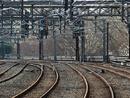 عکس: کارهای ساخت خط راه آهن