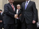 عکس: وزرای خارجه آذربایجان و ترکیه در مورد افتتاح نمایندگی دیپلوماتیک مشترک این دو کشور در آفریقا مذاکراتی انجام دادند / ترکیه