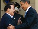 عکس: باراک اوباما خواستار از سر گیری مذاکرات صلح در خاورمیانه شد / فلسطین
