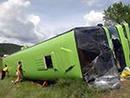 عکس: حادثه تصادف اتوبوس ایرانی در ترکیه 22 زخمی بر جای گذاشت / حوادث