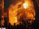 عکس: وقوع آتش سوزی شدید در یک بیمارستان در ترکیه / حوادث