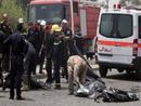 عکس: دهها تن از زائران شیعه در انفجارهای عراق کشته شدند / حوادث