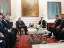 عکس: دیدار رؤسای جمهور آذربایجان و ترکیه در استانبول / ترکیه