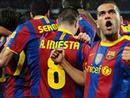 صور: برشلونة يهزم ريال ويفوز بكأس السوبر الاسبانية / مجتمع