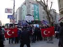 صور: مظاهرة الاحتجاج اقيمت أمام السفارة الايرانية في تركيا. / سياسة