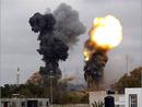عکس: هواپیماهای ناتو به مرکز تلویزیون و اقامتگاه قذافی در طرابلس حمله کردند / کشورهای دیگر