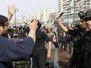 صور: العاملون بسنترال الأوبرا يحتشدون لحل مجلس المصرية للاتصالات  / أحداث