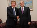 صور: بحث وزيري الخارجية الأذربيـــجاني والاوكراني مسائل ثنائية ودولية في باكو / سياسة