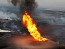 صور: للمرة الثامنة..ملثمون يفجرون خط الغاز الواصل لإسرائيل  / أحداث