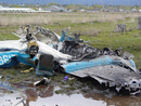 عکس: سقوط هواپیمای قزاقستان 20 کشته بر جای گذاشت / قزاقستان