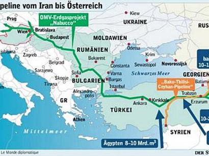 """عکس: ترکیه می تواند راه ایران را به """"نابوکو""""  باز کند / انرژی"""