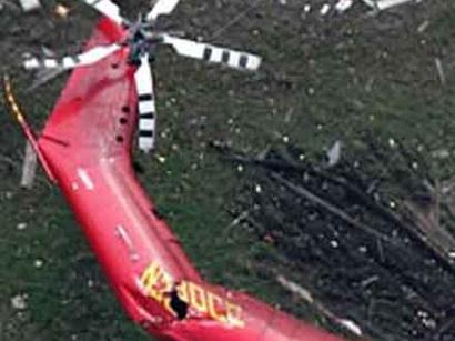 عکس: سقوط بالگرد اورژانس در ایران / حوادث