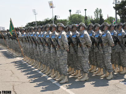 صور: احتفال اذربيجان بيوم القوات المسلحة / مجتمع