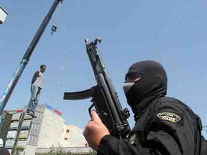 عکس: اعدام 5 نفر در ایران / ایران