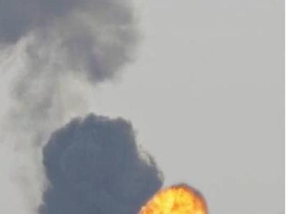 عکس: حمله تلافی جویانه اسرائیل به نوار غزه / اسرائیل