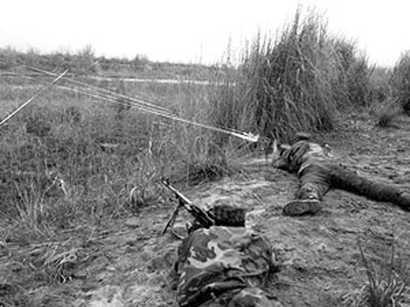 صور: القوات المسلحة الأرمينية تواصل إطلاق النار علي مواقع للجيش الأذربيجاني  / أحداث