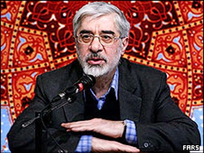 عکس: موسوی راه حل خود برای 'خروج از بحران' را پیشنهاد کرد / ایران