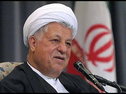 صور: هاشمي رفسنجاني : سياسه التهديد والترهيب ضد ايران كانت خاطئه / ايران