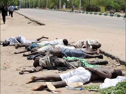 صور: ارتفاع عدد ضحايا اشتباكات نيجيريا إلى 81 قتيلا  / أحداث