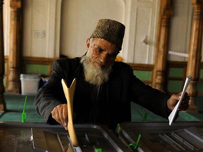 عکس: رای گیری برای انتخاب رئیس جمهوری آینده افغانستان آغاز شد / افغانستان