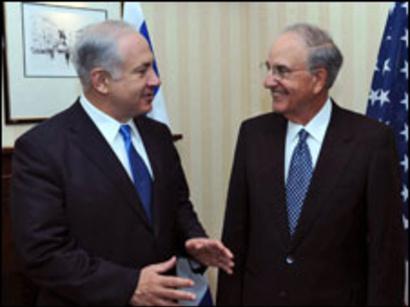 عکس: میتچل از گفتگو با اسرائیل راضی است / روابط اعراب و اسرائیل
