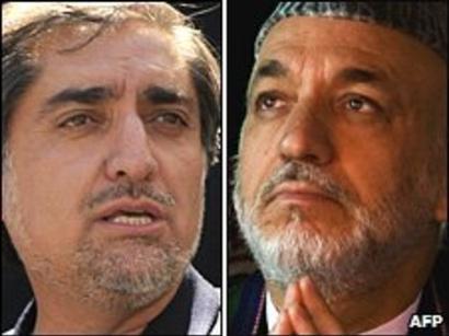 عکس: دکترعبدالله: انتخابات مجدد کرزی مبنای قانونی ندارد / افغانستان