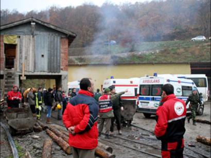 عکس: وقوع انفجار دریک معدن زغال سنگ در ترکیه / ترکیه