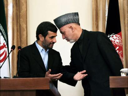 صور: الرئيسان الايراني والافغاني يتبادلان التهاني بمناسبة عيد الفطر / سياسة
