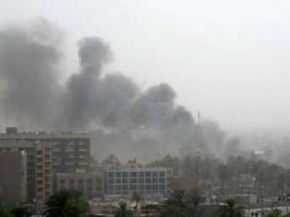 صور: مقتل وإصابة 62 في حريق بفندق شمالي بغداد / أحداث