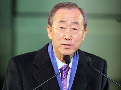عکس: بان کی مون: شورای امنیت سازمان ملل تدابیری را برعلیه مقامات لیبی اتخاذ خواهد کرد / کشورهای عربی