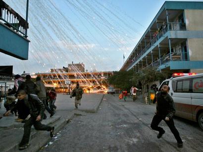 صور: إسرائيل تواصل غاراتها على غزة  / أحداث