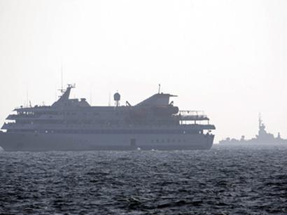 صور: اعتراض سفينة تحمل أسلحة بساحل اليمن  / أحداث